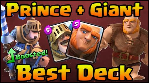 clash royale best prince deck and strategy for arena 6 7 8