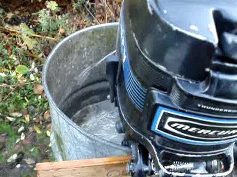 buitenboordmotor reviseren mercury 20 pk youtube