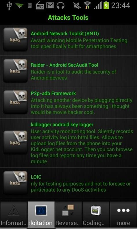 android hacking tools top 20 best android hacking apps tools of 2017