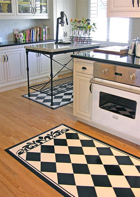 Black And White Kitchen Rug Home Office Decorating Ideas Black And White Kitchen Rug
