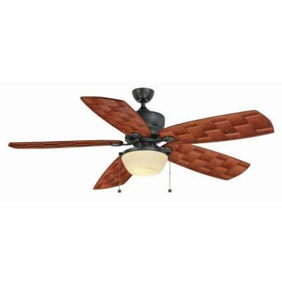 60 outdoor ceiling fan hton bay rocio 60 in iron indoor outdoor