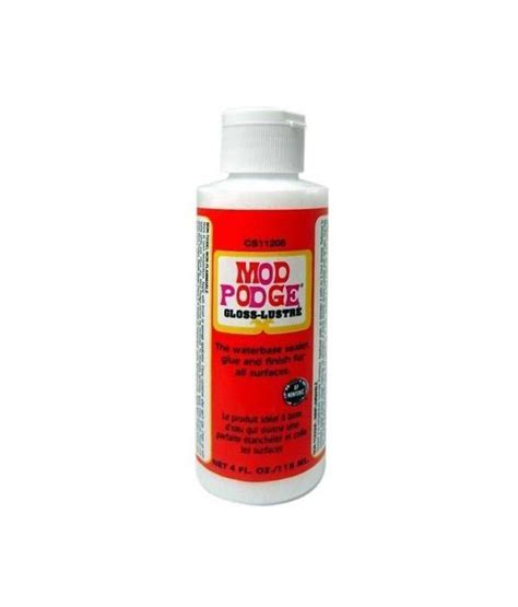 Decoupage Sealant - mod podge gloss all in one decoupage sealer glue