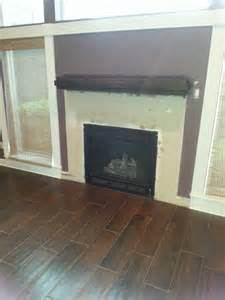 before and after for jacksonville fireplace remodel job