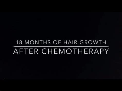 growing back afro american hair after chemo 18 months of hair growth after chemo youtube
