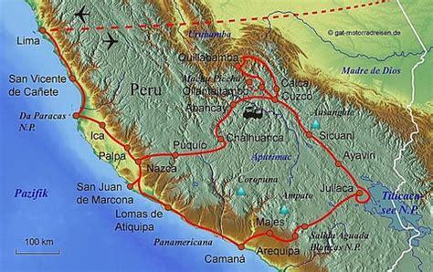 Mit Dem Motorrad über Die Anden by Motorradreise Peru Gef 252 Hrte Motorradtouren