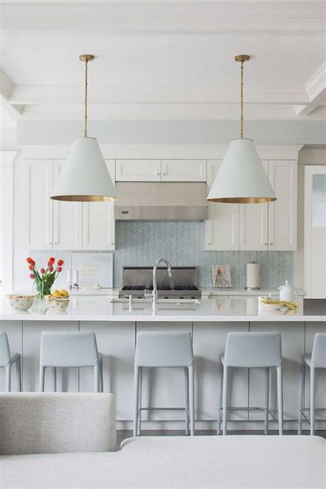 light blue kitchen backsplash 35 beautiful kitchen backsplash ideas hative