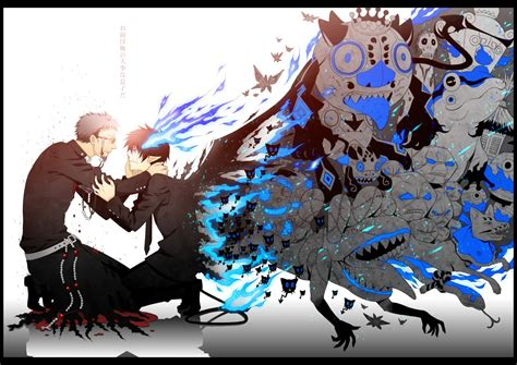 anoboy ao no exorcist okumura rin wallpaper zerochan anime image board