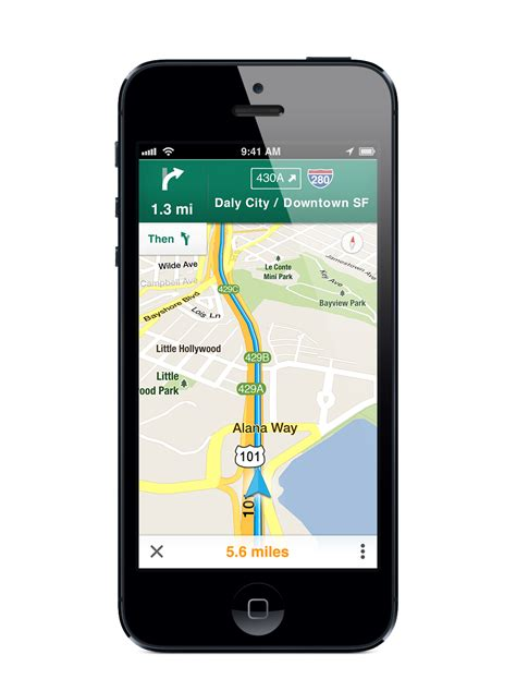 maps app for iphone launches thursday financial post