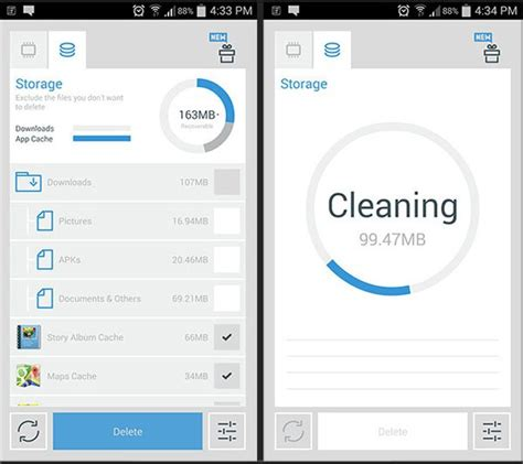 cleaner aap speed up and boost your android with the cleaner app review