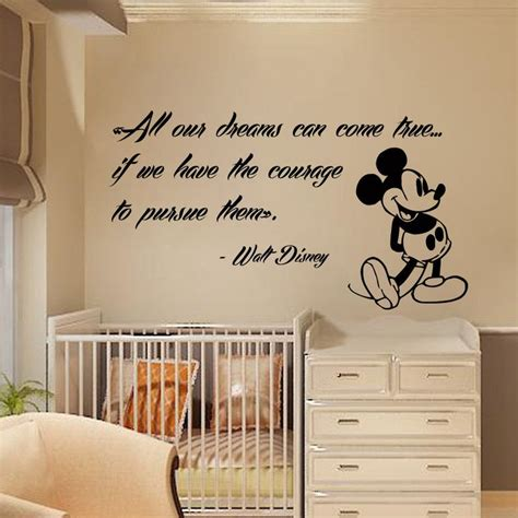 Disney Wall Decals For Nursery Best 25 Mickey Mouse Quotes Ideas On Pinterest Disney Sayings Quotes From Disney And