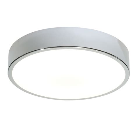 Flush Bathroom Ceiling Light Endon Lipco 300mm Flush Bathroom Ceiling Light Hf Ip44 28w Chrome Acrylic Liminaires
