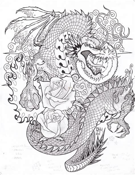 tattoo sketch dragon dragon tattoo sketch by bopet on deviantart