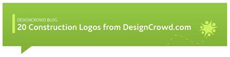 designcrowd register 20 construction and building company logo designs from