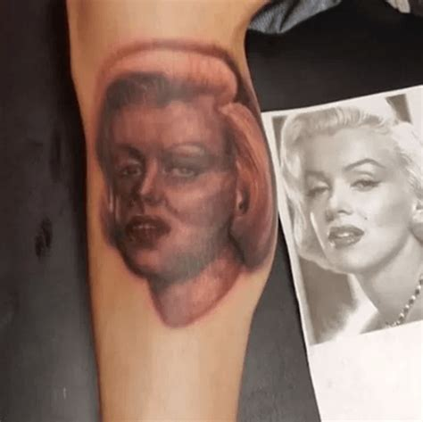 tattoo marilyn monroe fail 34 ridiculously hilarious tattoo fails that people have