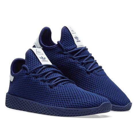 adidas originals adidas x pharrell williams tennis hu blue modesens