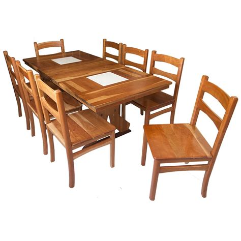 Cherry Wood Dining Table Set Dining Set Of Table And Chair From Solid Cherry Wood Bass Furniture