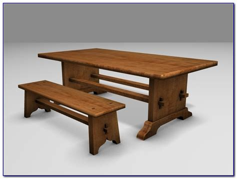 trestle dining table with benches sauder beginnings trestle dining table with benches