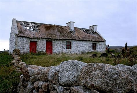 Cottages Donegal by Derelict Cottage Aranmore Flickr Photo