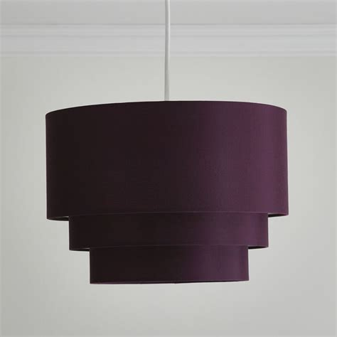 Plum L Shade by Wilko 3 Tier Shade Plum At Wilko