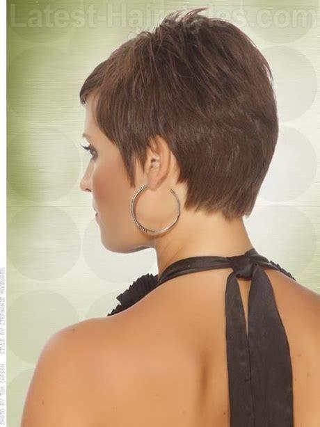 layered pixie haircuts all views back views of short haircuts