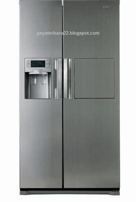 Kulkas Samsung Model Terbaru harga kulkas samsung sbs 2 pintu rs22hznsl dan spesifikasi