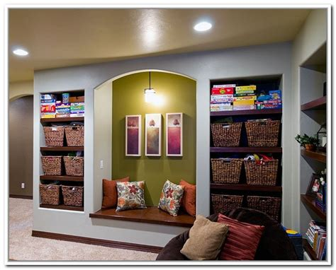 Finished Basement Storage Ideas Rv Basement Storage Ideas Home Design Ideas