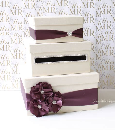 Gift Card Holder Wedding - wedding card box money box gift card holder custom made to