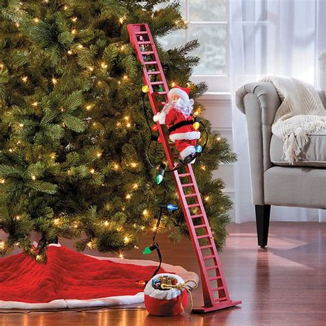climbing santa ladder christmas decoration best 25 indoor decorations ideas only on diy decorations diy