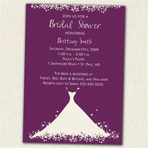 Where Can I Buy Etsy Gift Cards - bridal shower invitation