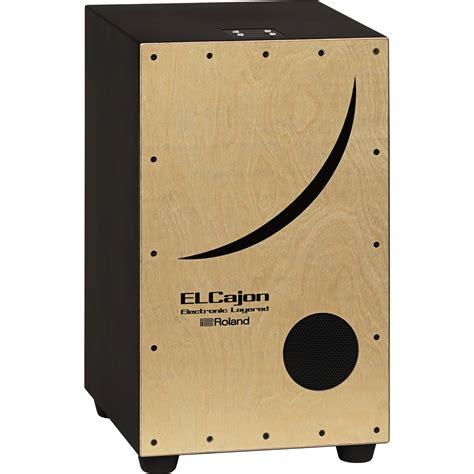 Cajon Drum Elektrik roland ec 10 electronic layered cajon ec 10 b h photo