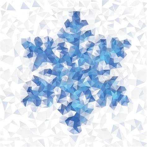 Retro Vintage Home Decor seamless pattern of geometric snowflake colorful mosaic