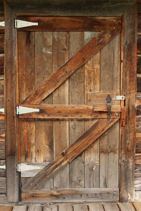 Log Cabin Interior Doors Cabin Doors Manly Cabin Door With Antler Door Knob In Talkeetna Alaska