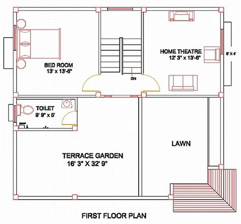 Simple Floor Plans With Dimensions by Column Layout For A Residence Civil Engineering Civil