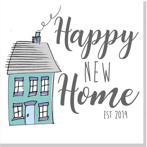 happy  home house  square card jola designs