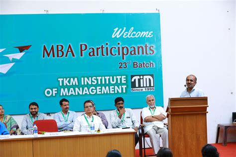 Mba Hr In Cognizant by 23rd Mba Batch Inaugurated By Mr Fritz Paul Associate
