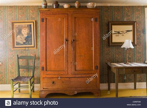 Armoire Canada by Antique Armoire In Bedroom Of 19th Century Home