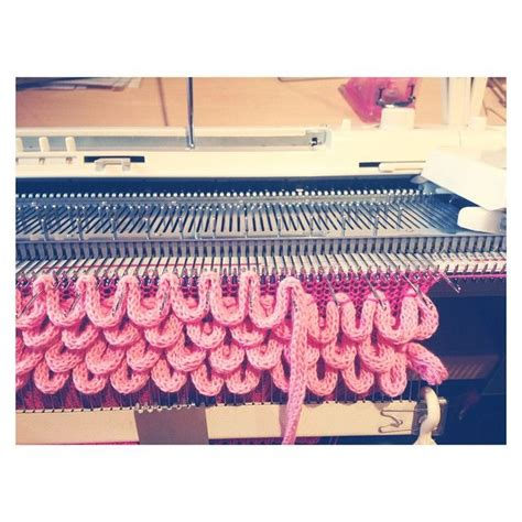 loom knitting machine 165 best puntos y t 233 cnicas de tejido a m 225 quina images on