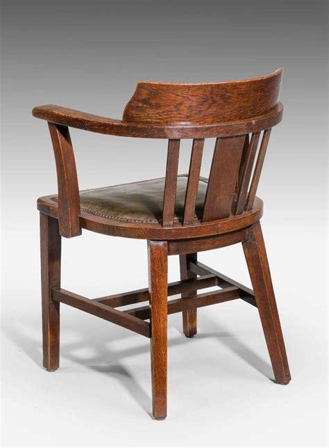 oak desk chair oak desk chair for sale at 1stdibs