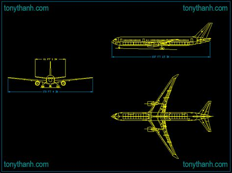 download layout autocad airplane elevation autocad drawing free download block