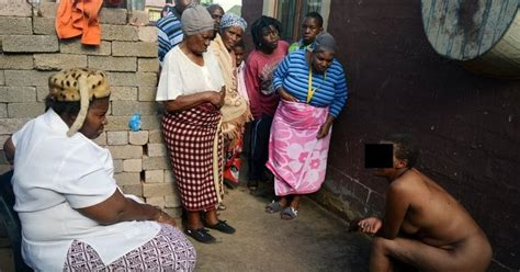 maponapona old woman sangoma shocked by maponapona woman in her yard