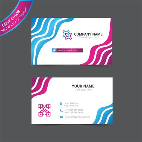 free digital card templates color digital business cards image collections card
