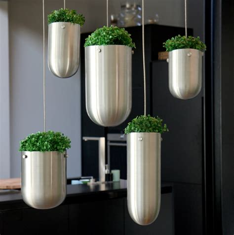 Hanging Planters Outdoor by Hanging Floating Garden Planters For Indoors And Outdoors