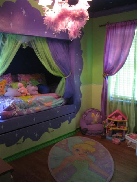 tinkerbell beds and bedroom on