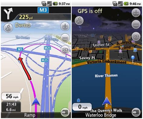 how to use gps on android navfree free gps navigation app for android