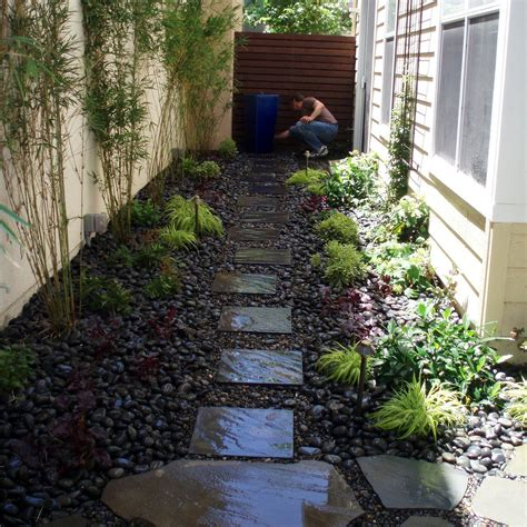 long narrow backyard landscaping ideas garden bed ideas for various beautiful garden designs