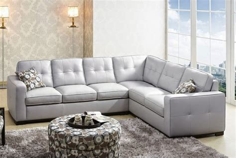 Gray Leather Sectional Sofa Grey Couch Grey Sectional Couch