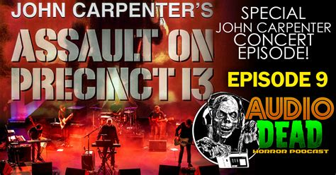 John Carpenter S Assault On Precinct 13 Vhs Cover Art - john carpenter concert review and assault on precinct 13
