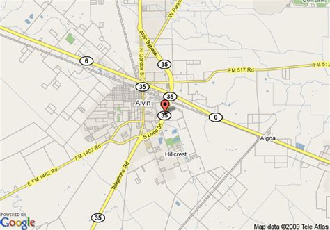 where is alvin texas on the map pin alvin texas area 2004 on