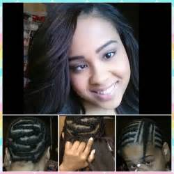 braid hairstyles for sew ins sew in weave hair extensions braid pattern install