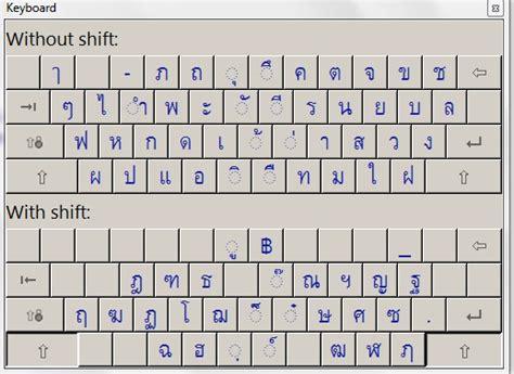 layout keyboard thai review three way thai english english thai talking